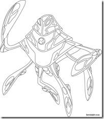 Raad ampere Desenhos para colorir e pintar Ben 10 Supremacia Alienígena