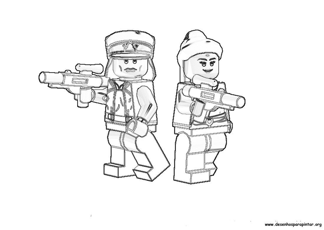 Dibujos Para Colorear E Imprimir Lego ~ Ideas Creativas Sobre Colorear