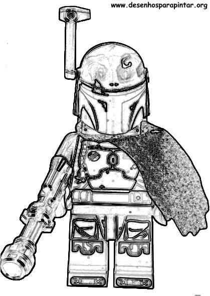 Lego Star Wars desenhos para