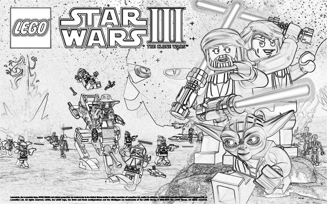 lego star wars desenhos para colorir pintar e imprimir do lego