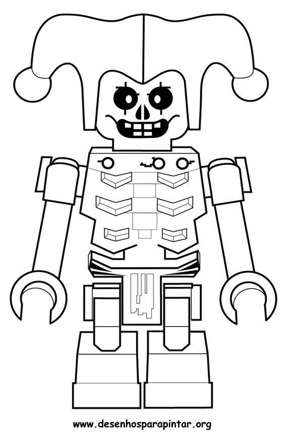 Lego Ninjago Desenhos Para Imprimir Pintar E Colorir