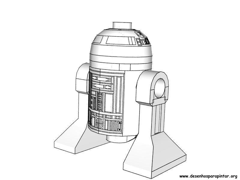 Lego Star Wars – desenhos para colorir, pintar e imprimir do Lego ...