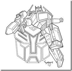 Transformers Desenhos Para Imprimir Colorir E Pintar Dos Autobots
