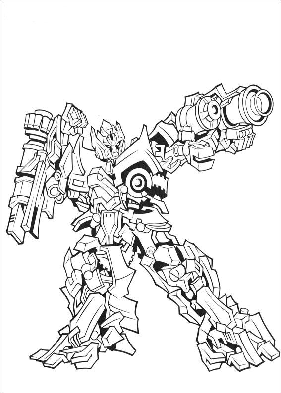 Desenho De Iron Hide Lego Transformers Para Colorir Tudodesenhos