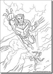 X Men Desenhos Para Imprimir Colorir E Pintar Dos Mutantes Xmen